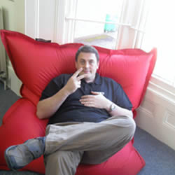 Dave's bean chair