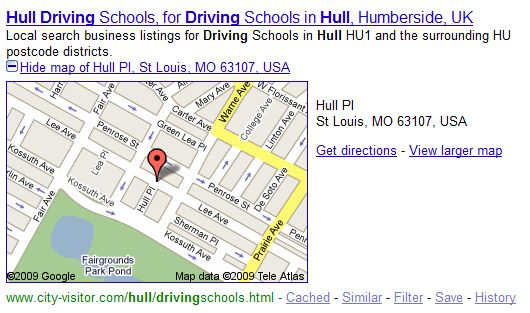 driving-lessons-in-hull-map
