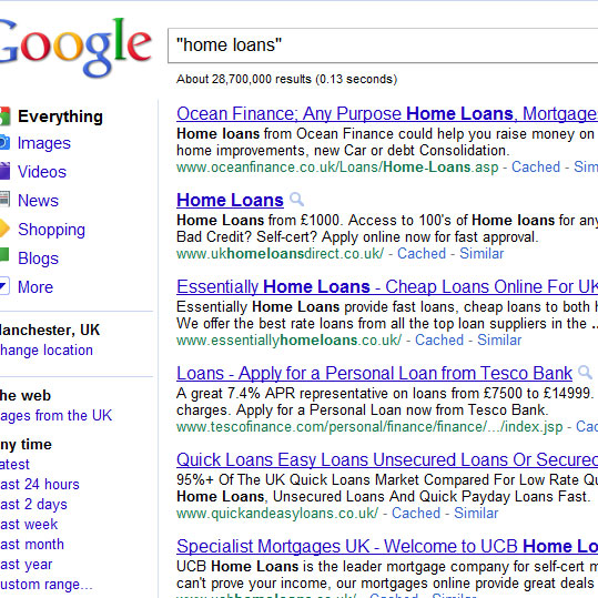 home loans