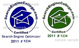 Search Engine College SEO Certified
